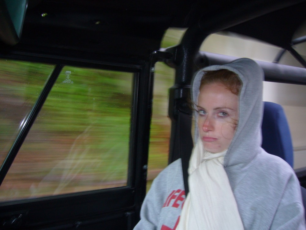 Click image for larger version  Name:12. Rain on the way back - Caitlin ready to kill me - resized.jpg Views:130 Size:133.1 KB ID:30030