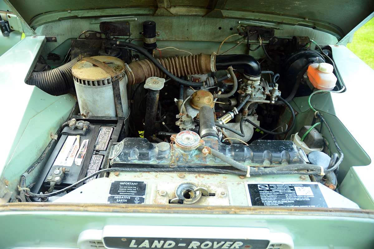 Click image for larger version  Name:1972 land rover series III 3 88 for sale second daily auctions (54)-min.jpg Views:45 Size:223.7 KB ID:330633