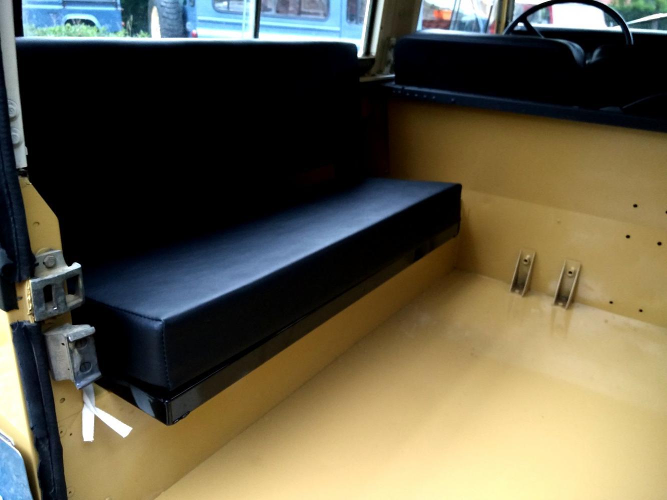 Click image for larger version  Name:1978 LR LHD Santana 88 Hardtop A Mustard Yellow loadfloor bench seat left.jpg Views:142 Size:81.7 KB ID:289937