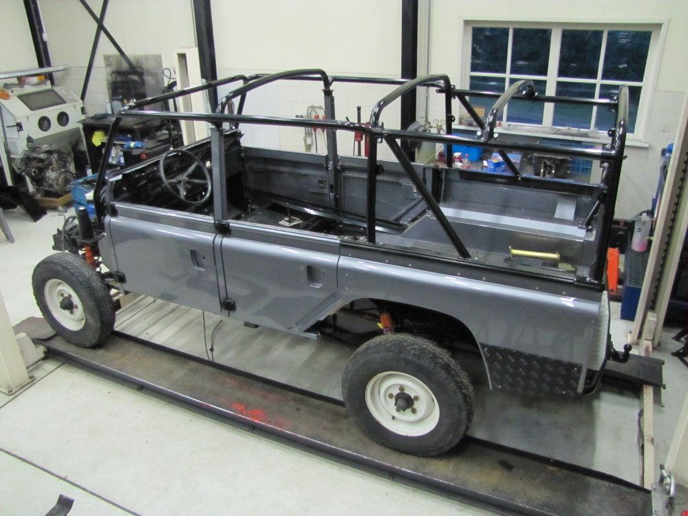 Click image for larger version Name: 1983 110 Green 4 dr Soft Top Tdi build