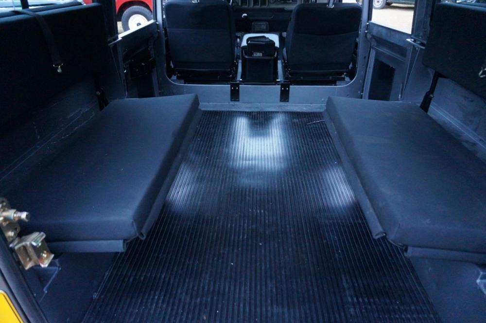 Click image for larger version  Name:1983 110 White Saudie Spec V8 painted Frozen Grey day 7  Tithonus benchseats Outlast.jpg Views:600 Size:70.3 KB ID:87989