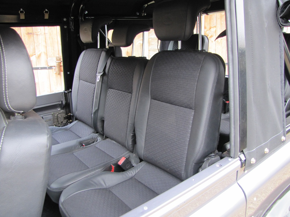 Click image for larger version  Name:1983 LR 110 Soft Top Orkney grey 300 tdi 2nd row seat.jpg Views:859 Size:227.2 KB ID:68710