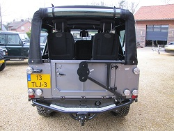 Click image for larger version  Name:1983 LR 110 Soft Top Orkney grey 300 tdi rear.jpg Views:299 Size:36.0 KB ID:68715