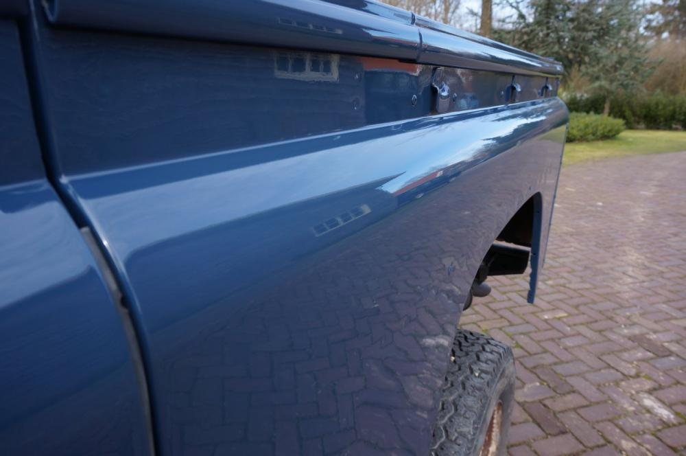 Click image for larger version  Name:1985 Defender 90 RHD 2.5 D Arles Blue painted day 1 side close.jpg Views:191 Size:57.3 KB ID:90595