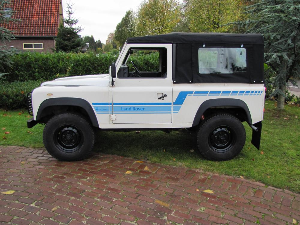 Click image for larger version  Name:1986 Landrover 90 LHD White Soft top 2.5 D B left side.jpg Views:282 Size:123.5 KB ID:60368