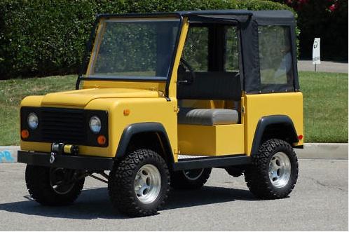 Land Rover Golf Cart >> Defender Golf Cart Defender Source
