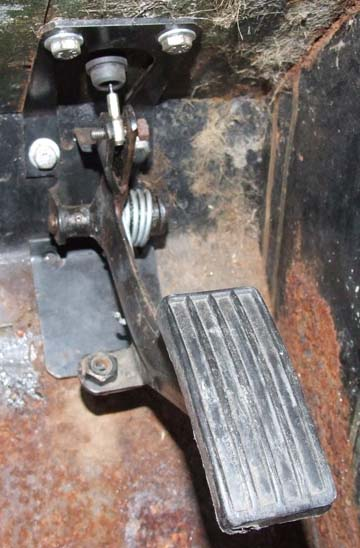 Land Rover Series Accelarator Pedal Throttle Pedal