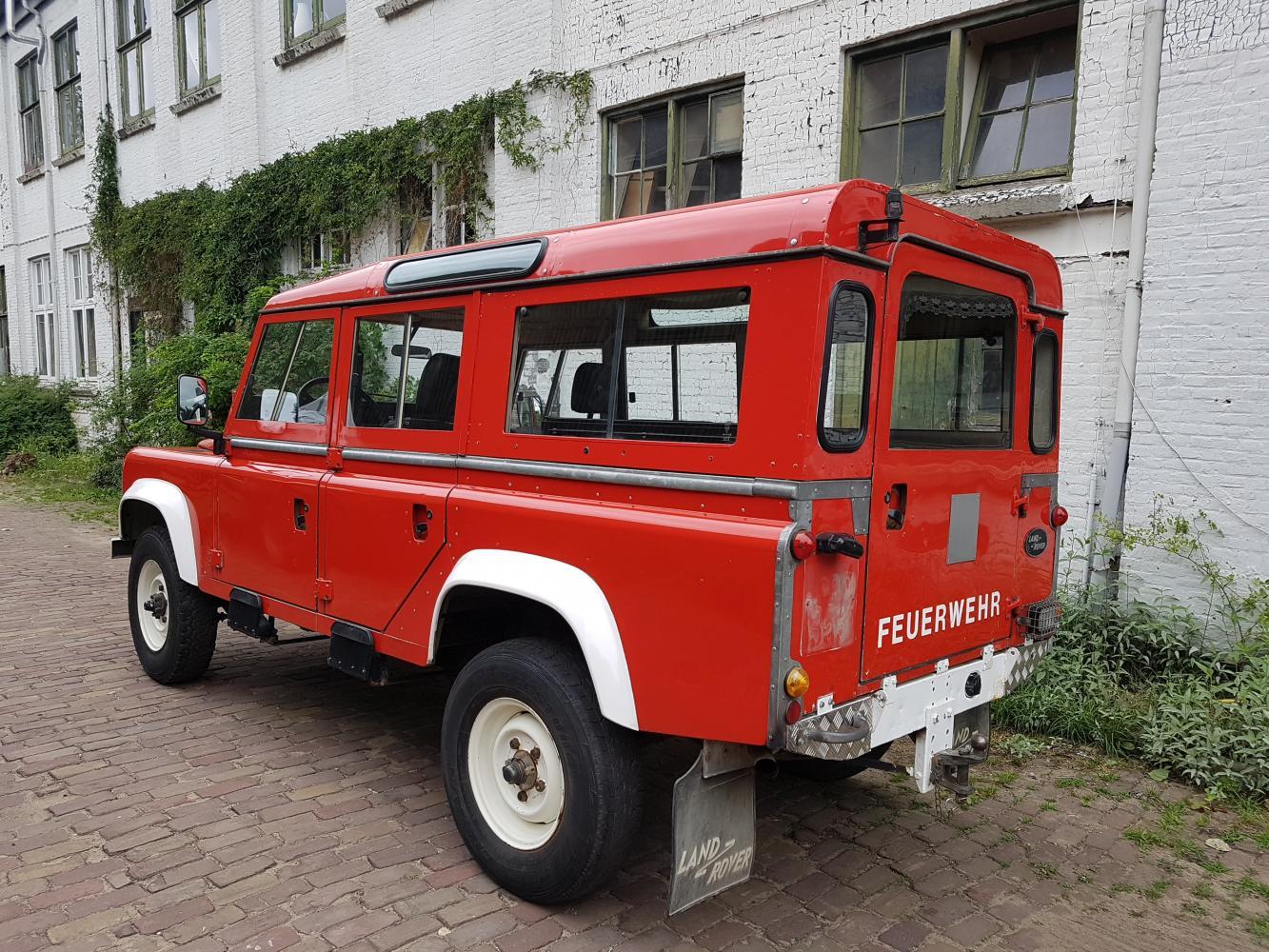 Land Rover Defender 110 Tdi Feuerwehr