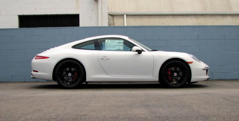 Click image for larger version  Name:991 Carrera S White 20 HRE P40SC Satin Black.jpg Views:106 Size:56.8 KB ID:48175