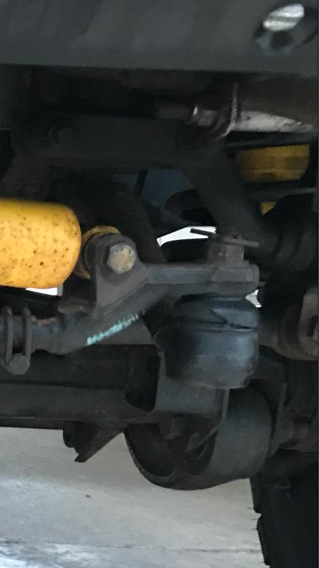 Knocking noise on bumps - Defender Source