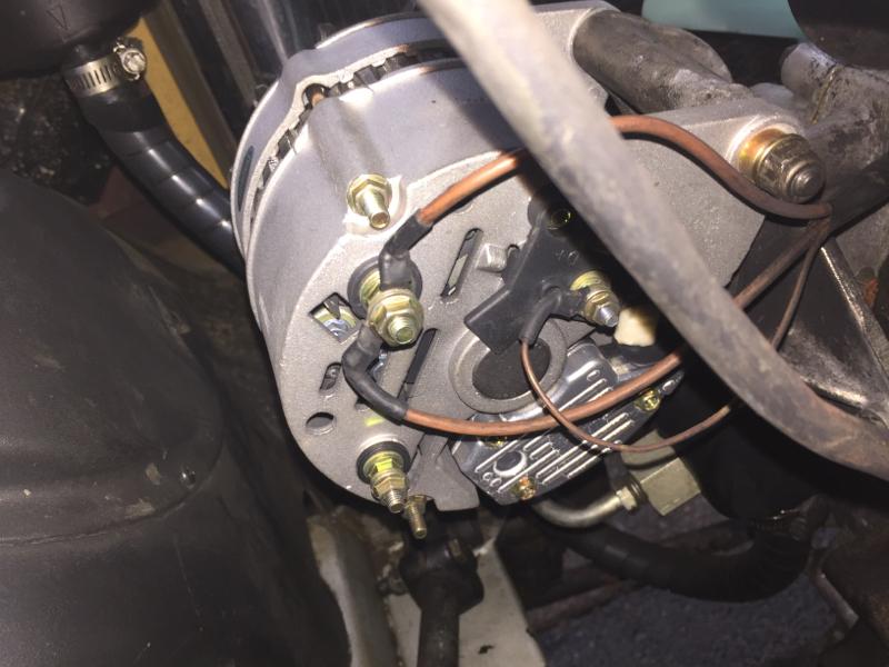 Alternator wiring 25td to 200Tdi Defender Source – Land Rover Discovery Alternator Wiring