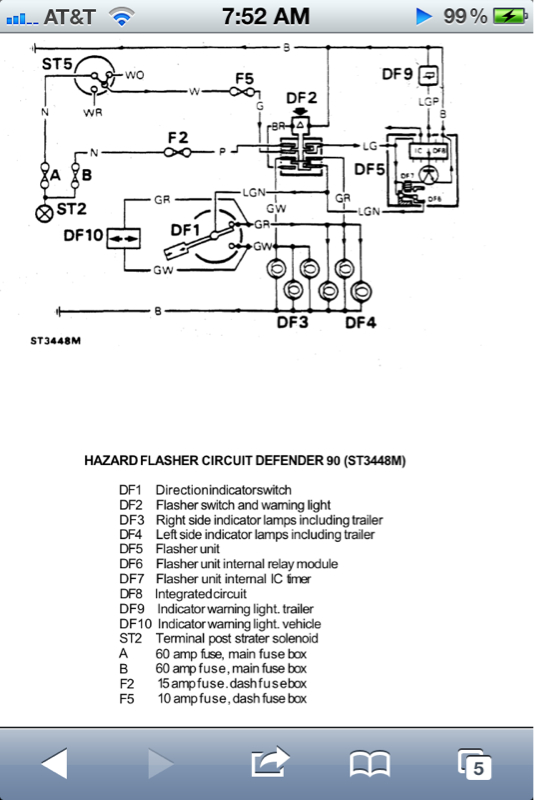 rewiring all rear lights electrical issues defender source click image for larger version image 5 jpg views 490 size