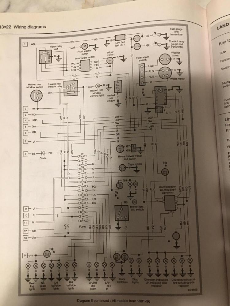 defender 90 wiring diagrams dome light   switch mystery defender source forum  dome light   switch mystery defender