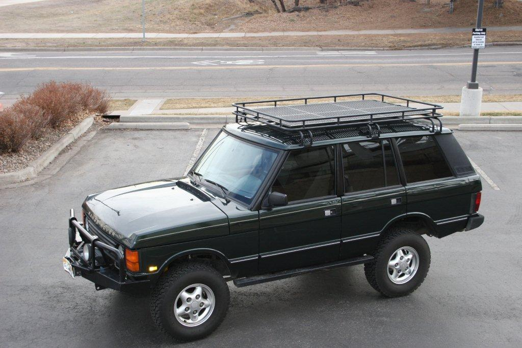 1995 Range Rover Classic Supercharged Defender Source Rovers North Roof Rack