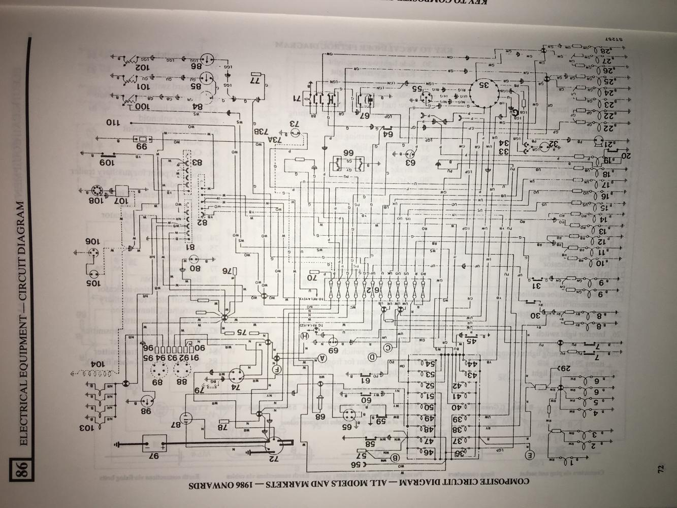Early Row Wiring Diagram Defender Source 1989 Land Rover Click Image For Larger Version Name Img 8719 Views 176 Size 2166