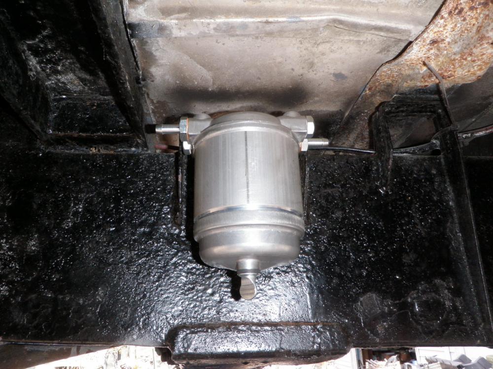 Self Bleeding Diesel Fuel System - Defender Source