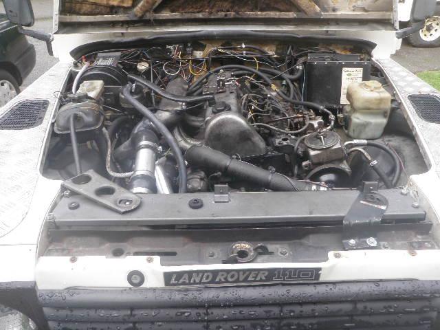 Mercedes OM617 Powered 110 Build Up - Defender Source