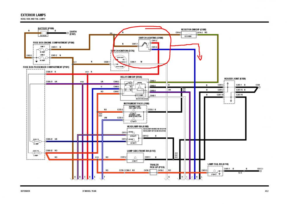 96 Land Rover Discovery Wiring Diagram