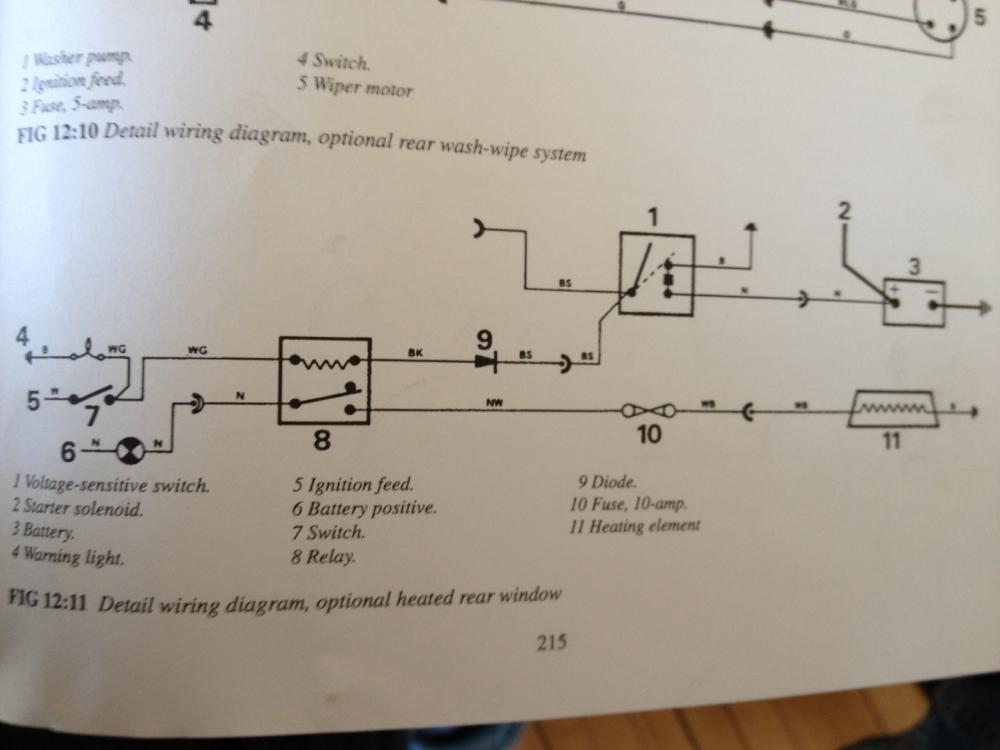 Defender Wiper Motor Wiring Diagram
