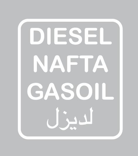 Diesel Fuel Stickers Defender Source