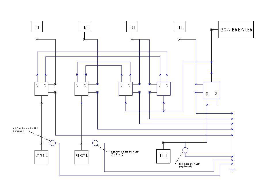 trailer light converter wiring diagram - solidfonts, Wiring diagram