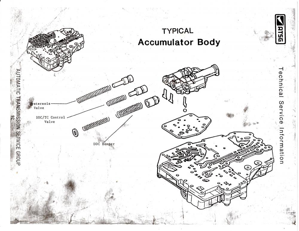 zf4hp22 valve body
