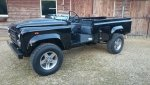 1987 LR LHD 110 Tithonus REBUILD building day 10 left front.jpg