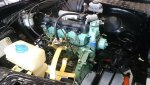 1987 LR LHD 110 Tithonus REBUILD building day 5 engine bay.jpg