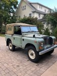 Rejeep's 1971 Land Rover Series 2a