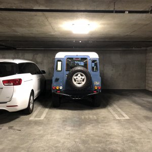 Rear - Parking Garage